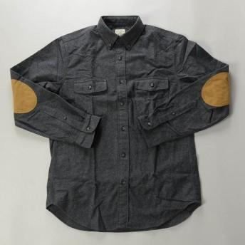 【FINAL SALE】J.CREW / ジェイクルー / ヘザーシャモワワークシャツ / ヘザーチャコール