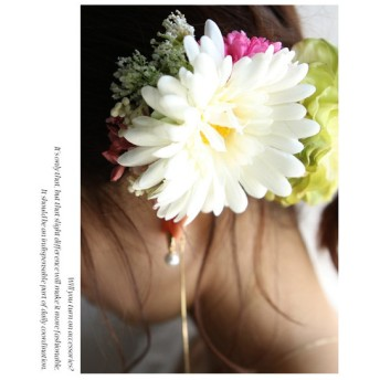 コサージュ 花 フラワー 大人 お洒落・flowerコサージュ・再販。##メール便不可