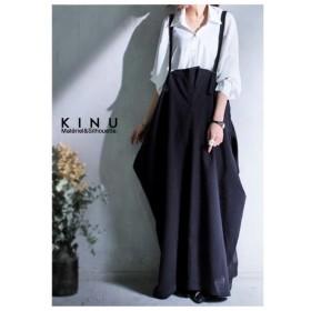 モードに女性っぽく、ワタシヲイロドル。デザインサロペスカート・再再販。##「G」メール便不可