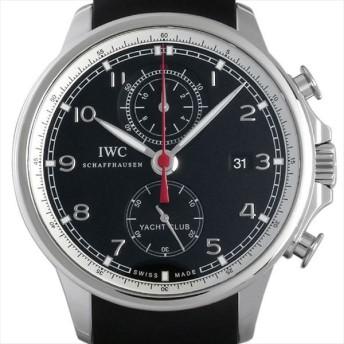 48回払いまで無金利 IWC ポルトギーゼ ヨットクラブ クロノグラフ IW390204 中古 メンズ 腕時計