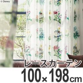 カーテン レースカーテン スミノエ ミッキー アンティ−クフラワ− 100×198cm ( ディズニー ボイルカーテン レース )