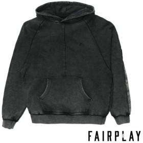 【FAIRPLAY BRAND/フェアプレイブランド】KOY パーカー / BLACK
