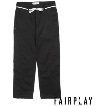 【FAIRPLAY BRAND/フェアプレイブランド】RAMI ワークパンツ / BLACK