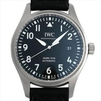 48回払いまで無金利 IWC パイロットウォッチ マーク18 IW327001 新品 メンズ 腕時計 キャッシュレス5%還元