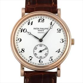 48回払いまで無金利 SALE パテックフィリップ カラトラバ オフィサー ティファニーWネーム 5022R-010 中古 メンズ 腕時計