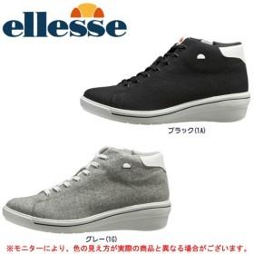 Ellesse(エレッセ)ヒールアップ ウインタースニーカー(VCU017W)ウォーキングシューズ レディース