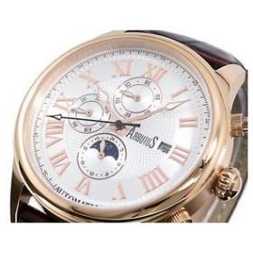 アルブータス ARUBUTUS 腕時計 自動巻き マルチファンクション AR208RWF