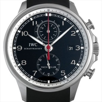 48回払いまで無金利 IWC ポルトギーゼ ヨットクラブ フライバッククロノグラフ IW390210 中古 メンズ 腕時計