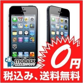 キャンペーン◆ネットワーク制限(○)【白ロム】SoftBank版 iPhone 5 16GB ブラック(MD297J/A) 【新品未使用】