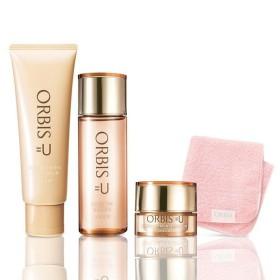 ORBIS(オルビス) 30代からのエイジングケア 3ステップセット(洗顔料+化粧水+保湿液) ミニタオル付