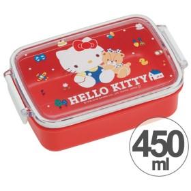 お弁当箱 角型 ハローキティ 80's 450ml 子供用 キャラクター ( タイトランチボックス 食洗機対応 弁当箱 )