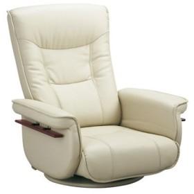 プラットフォーム レバー 座椅子 YS-2013-BE ベージュ (代引き不可)