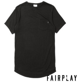 【FAIRPLAY BRAND/フェアプレイブランド】GLEN カットソーTシャツ「 / BLACK
