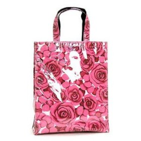 NICK&NORA ニック&ノラ トートバッグ N10242MT MEDIUM TOTE BED OF ROSES PINK