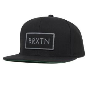 ブリクストン スナップバックキャップ リフト ブラック 帽子