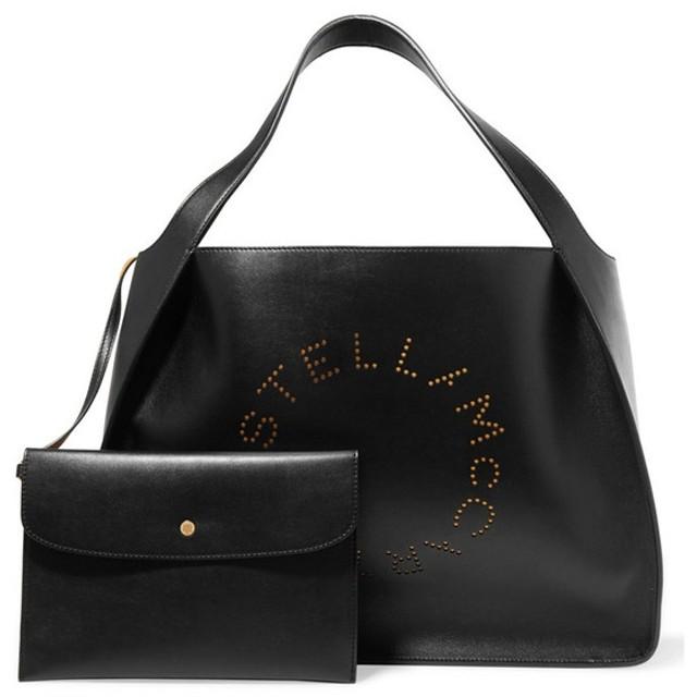 STELLA McCARTNEY ステラマッカートニー 新作 レザートートバッグ ブラック/BLACK 502793W9923