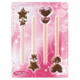 チョコレート型 スティックチョコモールド マジックスティック 手作りチョコ ( チョコ型 抜き型 スティックチョコ 型 )