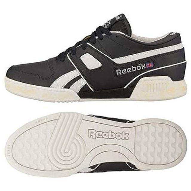 Reebok CLASSIC リーボッククラシックプロ ワークアウト ロー ブラック/オフホワイト/エクセレントレッド V52535