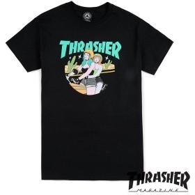 【THRASHER/スラッシャー】BABES T-SHIRT Tシャツ / BLK