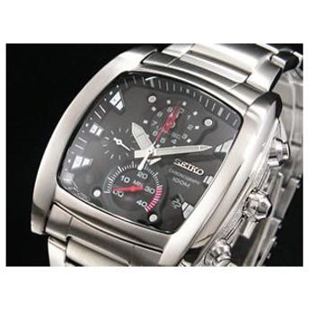 セイコー SEIKO 腕時計 1/100秒 クロノグラフ メンズ SPC029P1 代引不可
