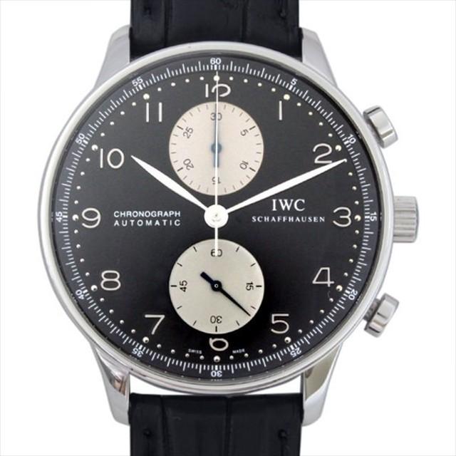 quality design 2079b 8545e 48回払いまで無金利 IWC ポルトギーゼ クロノグラフ IW371404 ...