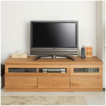 天然木テレビボード 幅150cm ( AVボード テレビ台 ローボード )