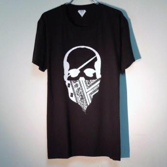 スカル バンダナ Tシャツ / Black