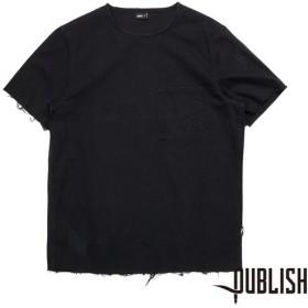 【PUBLISH BRAND/パブリッシュブランド】MONTE カットソー / BLACK