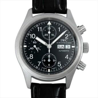 48回払いまで無金利 IWC フリーガー クロノグラフ IW370603 中古 メンズ 腕時計