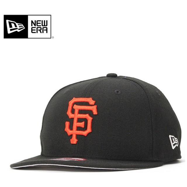 ニューエラ キャップ 帽子 9FIFTY サンフランシスコ ジャイアンツ ブラック NEW ERA メンズ