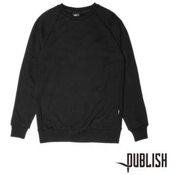【PUBLISH BRAND/パブリッシュブランド】ALFORD クルースウェット / BLACK