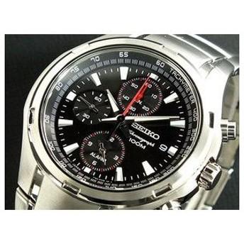 セイコー SEIKO 腕時計 クロノグラフ アラーム SNAE41P1