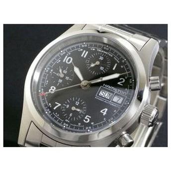 HAMILTON ハミルトン カーキ フィールド オート クロノ 腕時計 H71416137