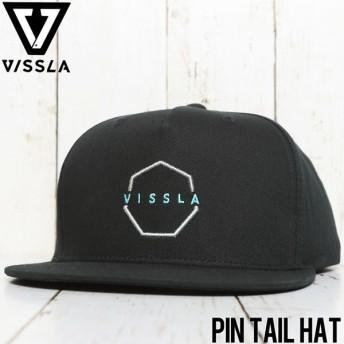 VISSLA ヴィスラ PIN TAIL HAT SNAPBACK CAP スナップバックキャップ MAHTGPIN BLK