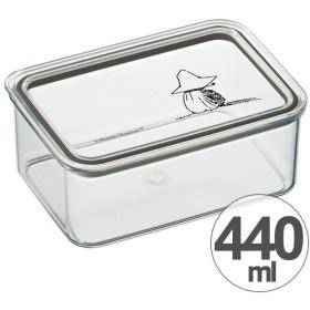 お弁当箱 システムフードケース ムーミン スナフキン 440ml キャラクター ( 保存容器 保存ケース 食洗機対応 )