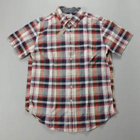 J.CREW / ジェイクルー / ジェニューインインディアンコットンショートスリーブB.Dシャツ / リネン