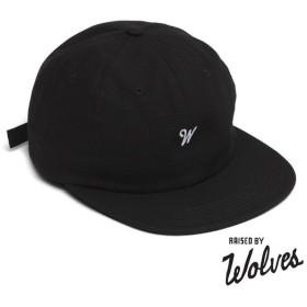 【RAISED BY WOLVES/レイズドバイウルブス】RAINES POLO CAP キャップ / BLACK