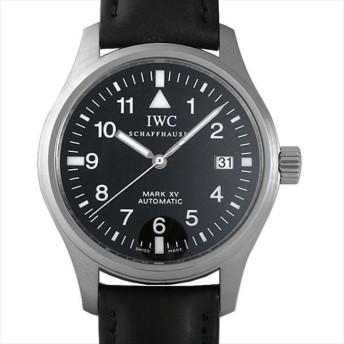 48回払いまで無金利 IWC マーク15 マークXV IW325302(3253-02) 中古 メンズ 腕時計 キャッシュレス5%還元