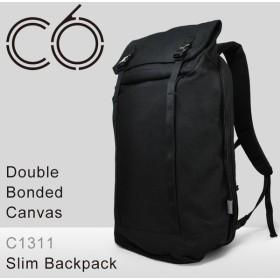 シーシックス C6 リュック C1311 Double Bonded Canvas コットンキャンバス Slim Backpack リュックサック ビジネスリュック メンズ [PO10]