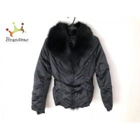 ノーベスパジオ NOVESPAZIO ダウンジャケット サイズ38 M レディース 美品 黒 冬物          値下げ 20190929
