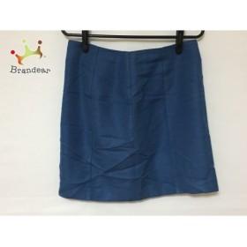 ダイアグラム Diagram GRACE CONTINENTAL ミニスカート サイズ36 S レディース ブルー           スペシャル特価 20190308