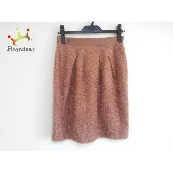 ジャスグリッティー JUSGLITTY スカート サイズ2 M レディース 美品 ピンクブラウン               スペシャル特価 20191102