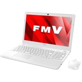 ノートパソコン パソコン PC 富士通 FMV LIFEBOOK AH53/B2 FMVA53B2WG Microsoft Office 15.6型 フルHD 1TB BD Windows10 Core i7-7700HQ 訳あり アウトレット