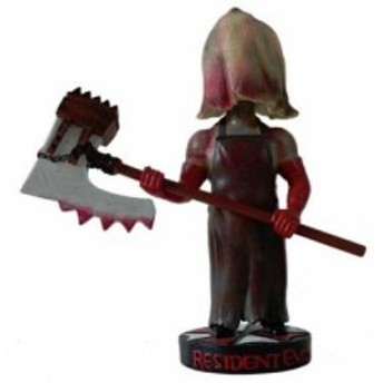 Hollywood Collectibles Group HCG Resident Evil the AXE MAN Head Knocker Bobble Head バブルヘッド