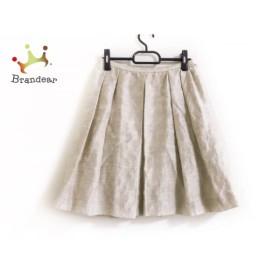 スピック&スパン ノーブル Spick&Span Noble スカート サイズ38 M レディース ベージュ          値下げ 20191003