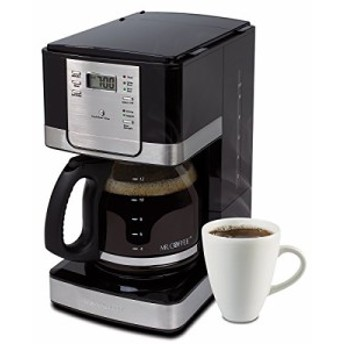 Mr. Coffee [ミスターコーヒー] Advanced Brew 12-Cup プログラマブル コーヒーメーカー Black/Stainless