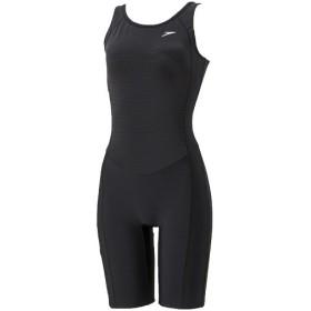 スピード(speedo) レディース 競泳水着 スパッツスーツ ブラック×ブラック SD58N66 KK ウィメンズ 練習用 女性用 トレーニング 水着 スイムウェア