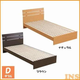 ベッド 木製ベッド 収納付き 収納ベッド ヘッドボード付木製ベッドD RX015D (代引不可)(D) (大型宅急便)