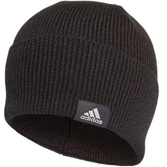 アディダス(adidas) ニット帽 パフォーマンス ウーリー ブラック/ブラック/MGHソリッドグレー EVR18 CY6026 帽子 ニットキャップ 防寒