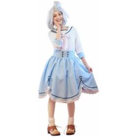 送料無料 ルービーズ 大人用シナモロール サンリオキャラクター ハロウィン レディース ハロウィン 仮装 衣装 コスチュ